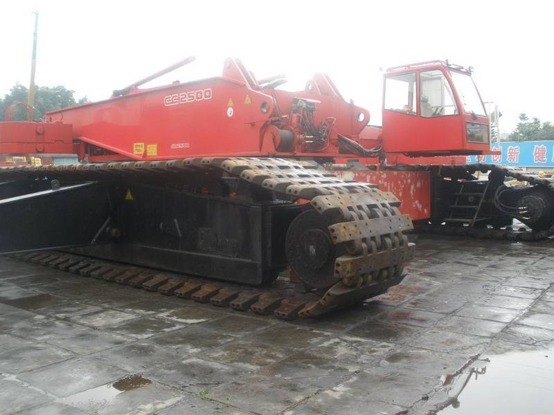 USED CC2500 450TON CRAWLER CRANE WITH HIGH QUALITY IN LOW PRICE  FOR SALE
