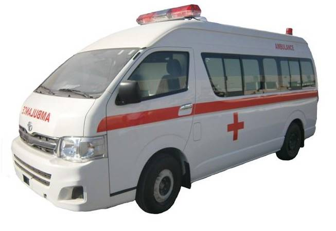 TOYOTA AMBULANCE HIACE HIGH ROOF