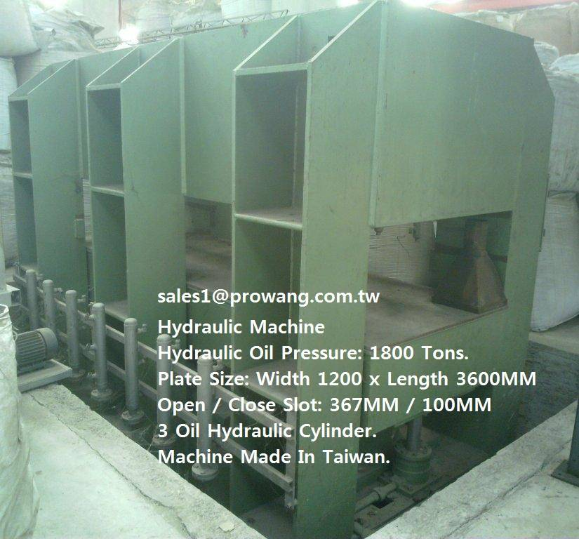 Hydraulic Machine 1800 Ton