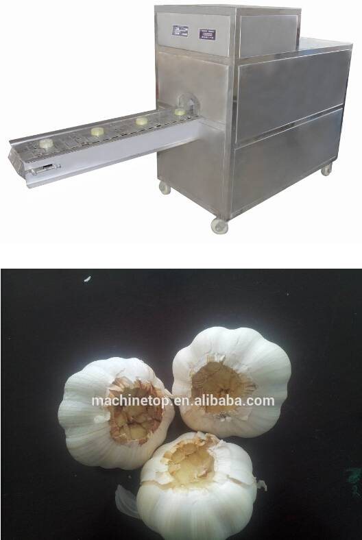 garlic cutting machine/cutting garlic machine/garlic cutter/garlic processing machine