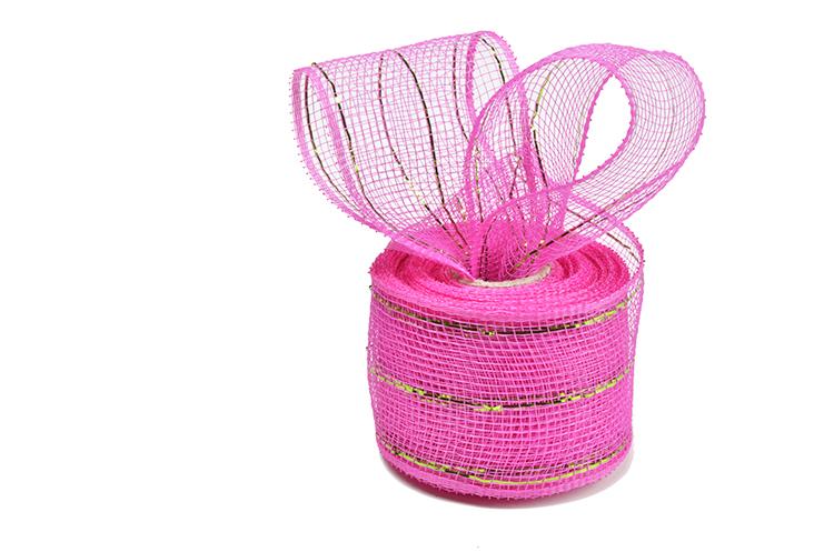 "2.5""10y dark pink apple green strip metal wire mesh for 20C04M32R2-5"