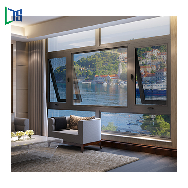 Factory direct selling residential house china suppliers aluminum framed window