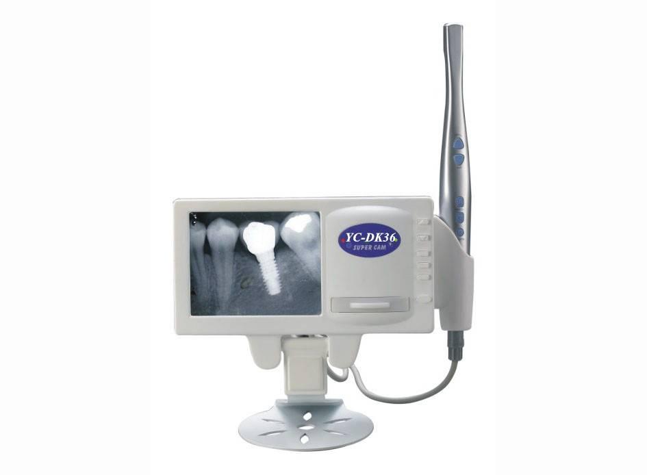 X-ray reader and intra oral camera