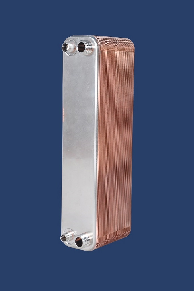 High Efficiency Evaporator GL50 Brazed Heat Exchanger with Gas Distributor