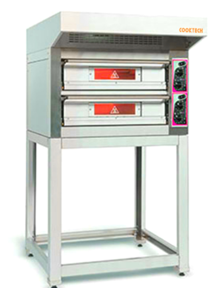 Pizza oven electrical , double deck
