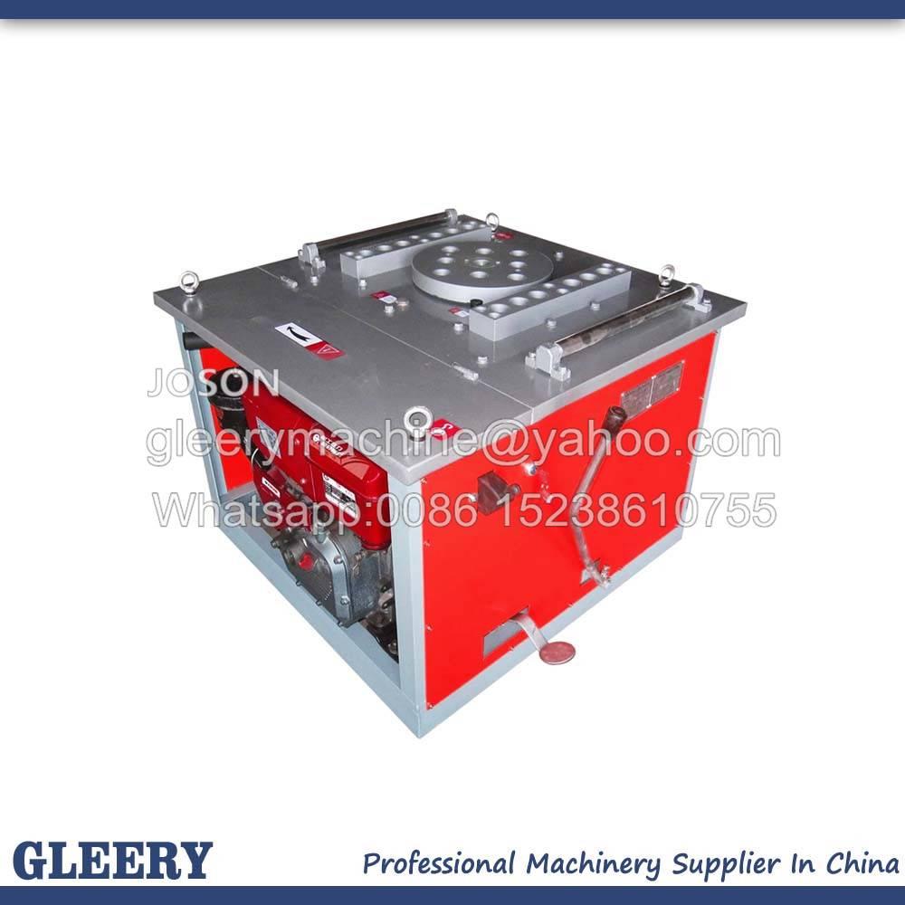 GW50-D Diesel Powered Manual Steel Bender Machine