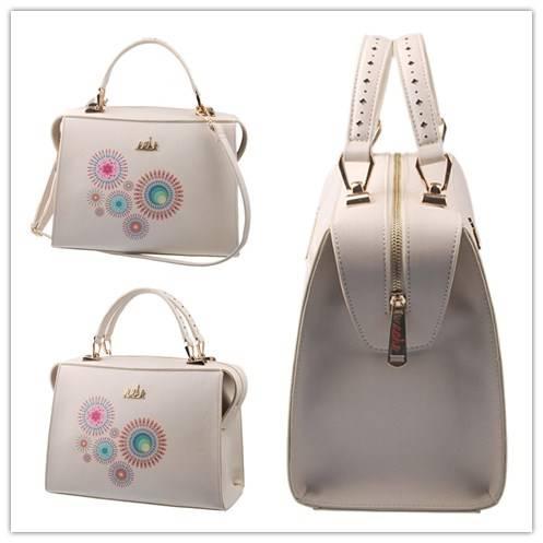 Guangzhou Supplier Designer Printed Fashionable Ladies Handbag (L5002)