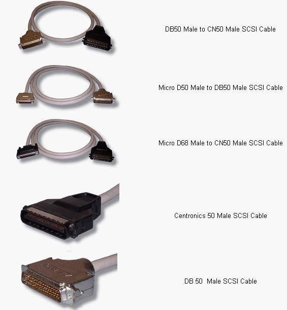 SCSI Printer Cables