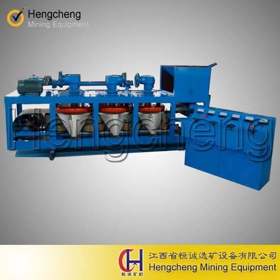 tantalum mining belt type 3-disk electro magnetic separator