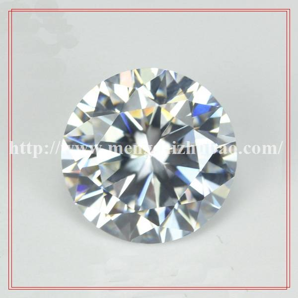 New products loose round 6mm star cut cubic zirconia