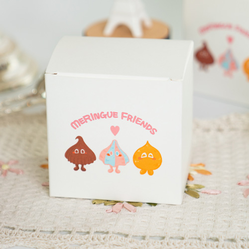 Sweet Meringue Cookie made from fresh ingredients and it is not contain synthetic additives