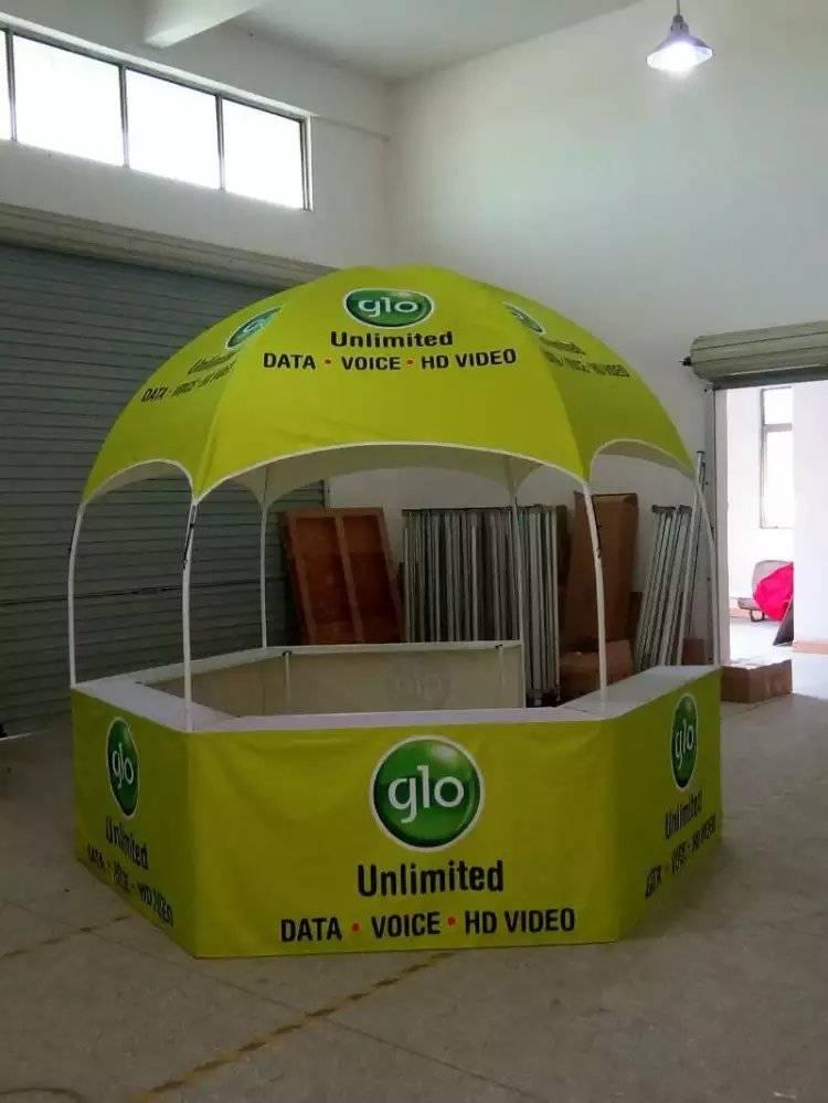 Hexgonal Kiosk booth tent,dome tent