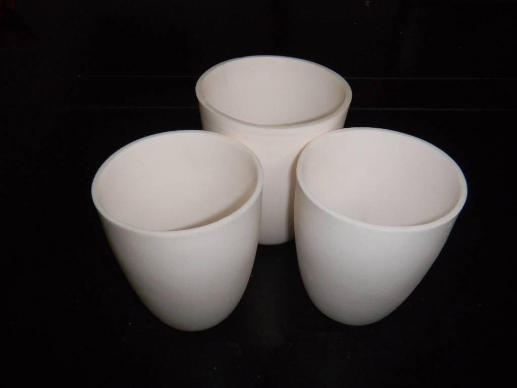 Ceramic Crucible for melting glass,aluminum,platinum casting