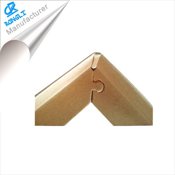 Packaging Box Paper Corner Protector with Locked Break Angle