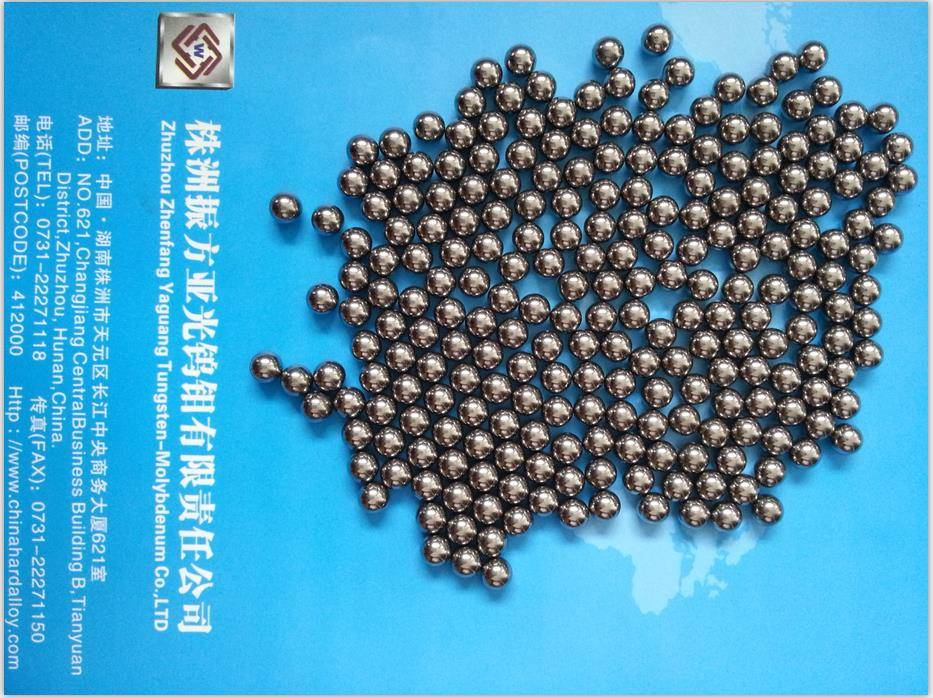 4.0mm Tungsten Balls Tungsten Alloy Balls Tungsten carbide Balls