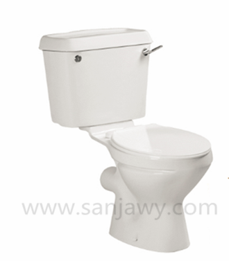 Hot Sale Siphonic Close-coupled Toilet Sanitary Ware WC Bathroom Design 2PC Toilet
