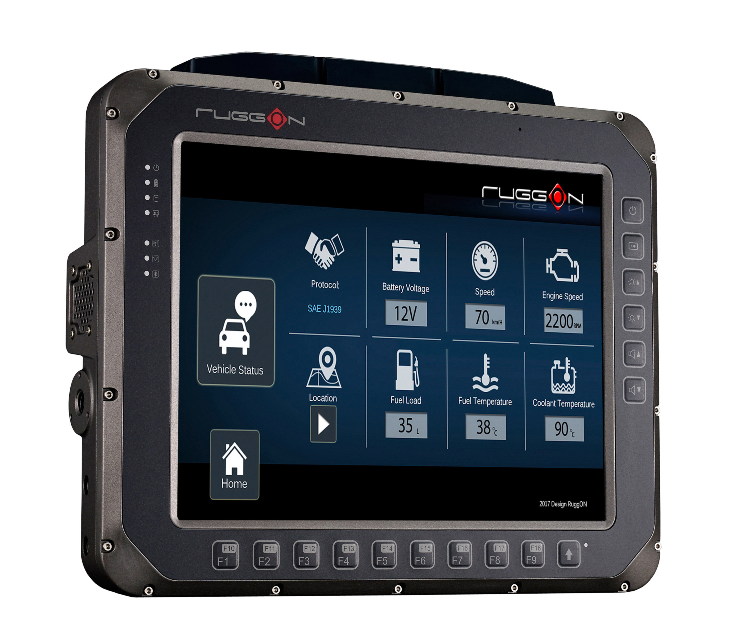 Rugged In-Vehicle Terminal VX-601