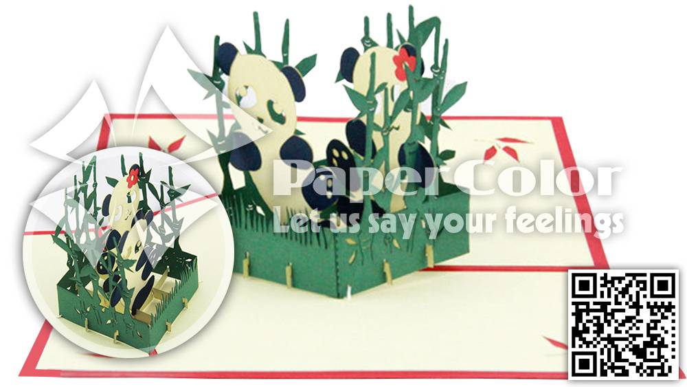 Valentine 3d Pop Up Card holiday greeting card