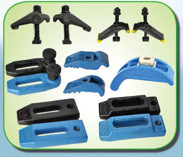 universal forged mold clamps for injection molding