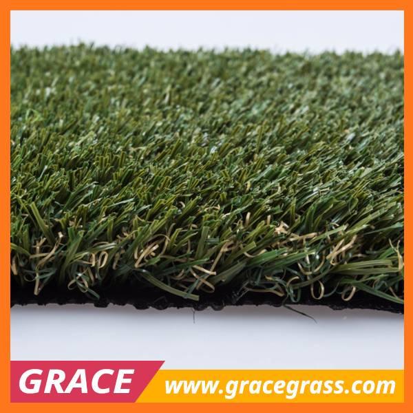 30mm high density non infill artificial football turf