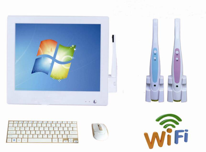 High Resolution 15 Inch screen with Dental Intraoral Camera