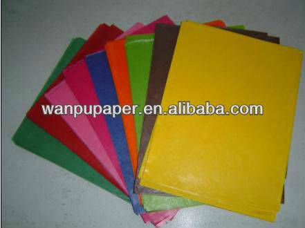 Colorful Glassine paper