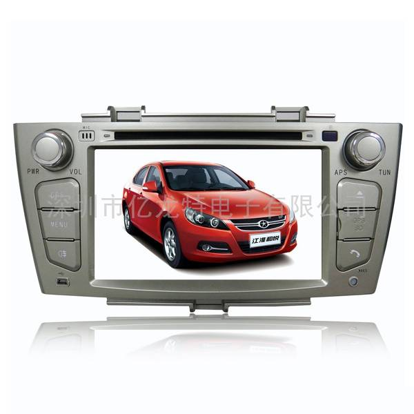 2 din in dash oem car dvd for JAC J6 car dvd with gps navigation