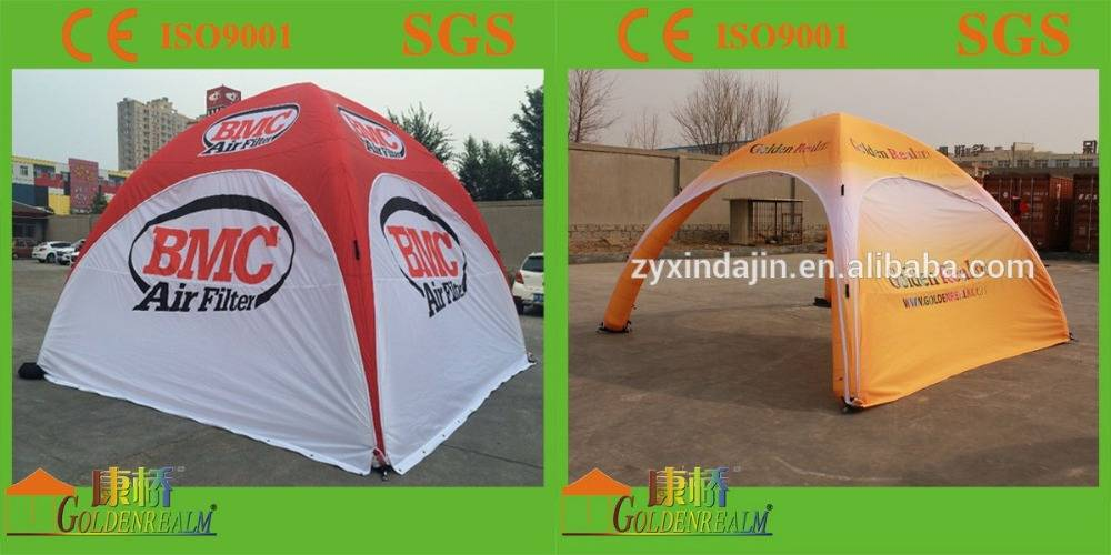 Best selling trade show popular inflatable tents with durable Oxford fabric