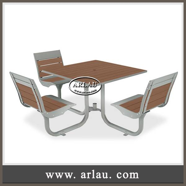 Arlau street furniture,steel and timber table benches,dinning table chairs