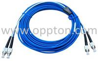 Armored patch cord/pigtail series