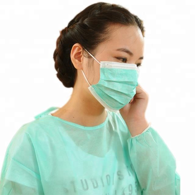 3ply Non-woven Fabric Disposable Medical Face Mask