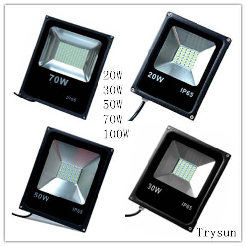 IP65 Energy Saving Garden LED FloodLight 20W 30W 50W 70W 100W