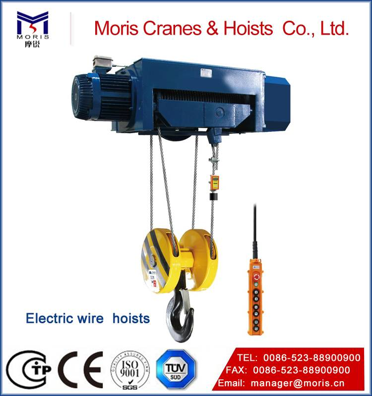 Industrial Wire rope hoist cranes
