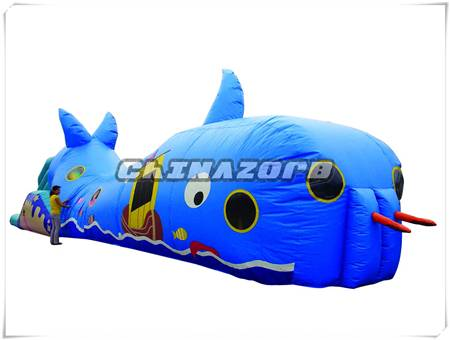 Good sale inflatable tunnel bouncy toys good price