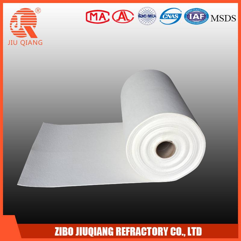 1260 Alumina silicate heat insulation refractory ceramic fiber wool blanket/mat/felt & Ceramic fiber