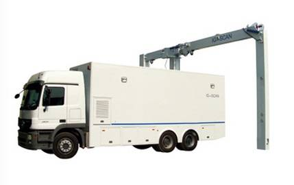 mobile container inspection system