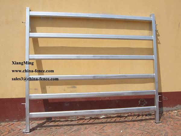 Anping manufacturer 1.8x2.1m cattle fence panels cow panel cattle panel