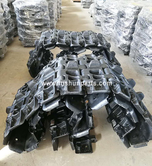 Heat Treated Track Shoe With Pin For Crawler Crane