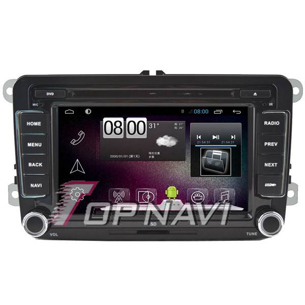 800*480 7inch Android 4.4 Car GPS Player Video For VW Passat /Golf /Bora /Jetta