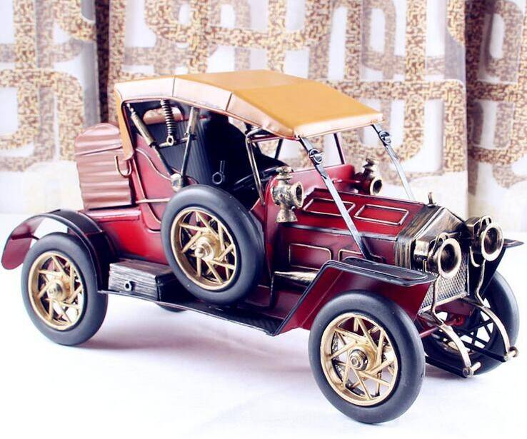 metal tin car model