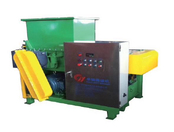Hydraulic Machine Single Shaft Shredder for Cable Hardboard Wood