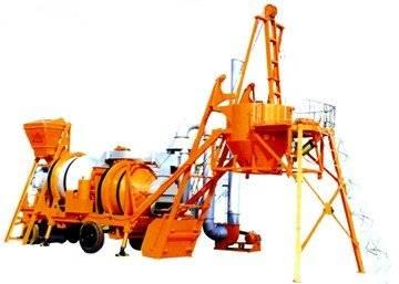 Mobile Asphalt Mixing Plant  (LBY2000)