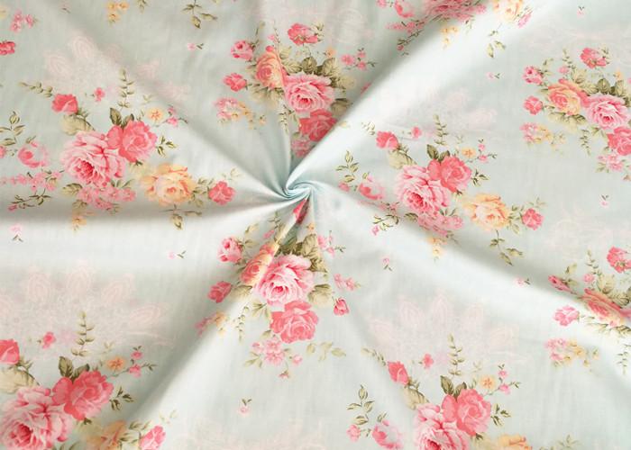 Twill Cotton Printed Fabric