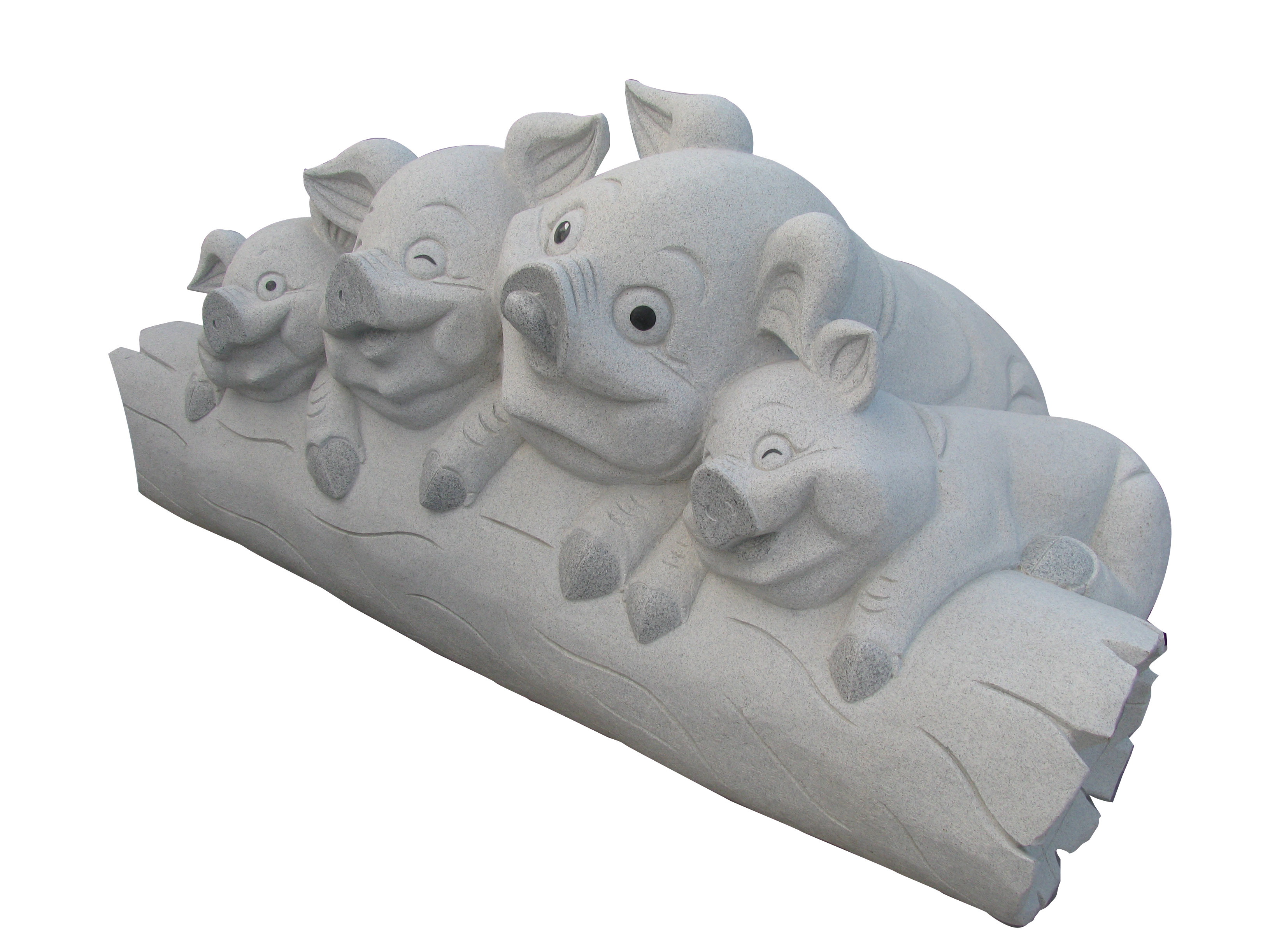 Happy Pigs Sculpture
