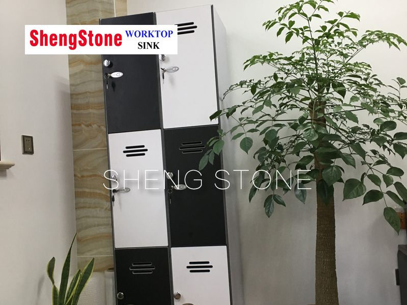 Chemical resistant and corrosion resistant phenolic resin or compact cabinet
