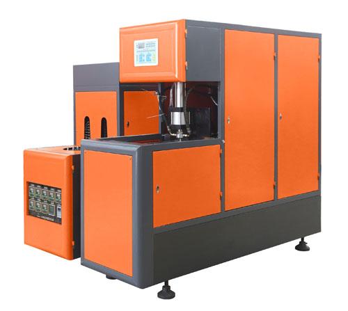 SEMI-AUTOMATIC BOTTLE BLOWING MACHINE