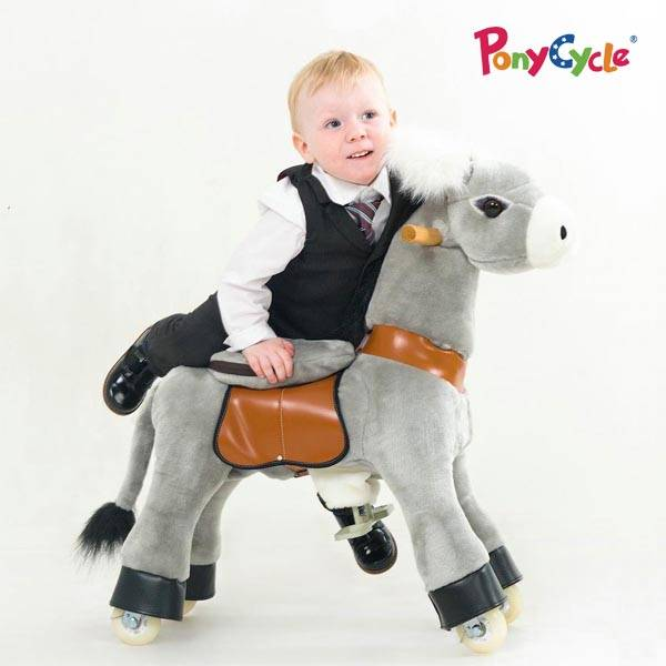 Ride On Horse Plush Toy