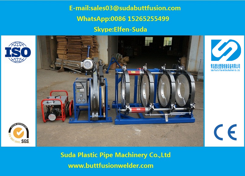 315mm-630mm HDPE pipe butt fusion welding machine