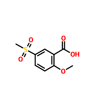 2-Methoxy-5-(methylsulfonyl)benzoic acid