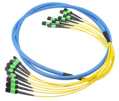 MPO MTP Trunk Cable Assemblies fiber optic cable